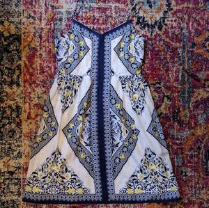Blue and yellow sundress   BR